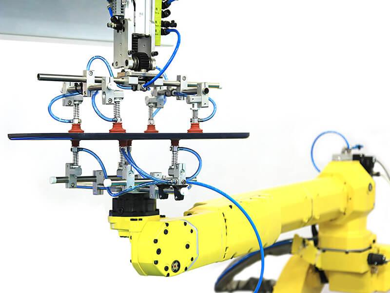 Speziell entwickelte Robotergreifer ermöglichen die Automatisierung von Produktions