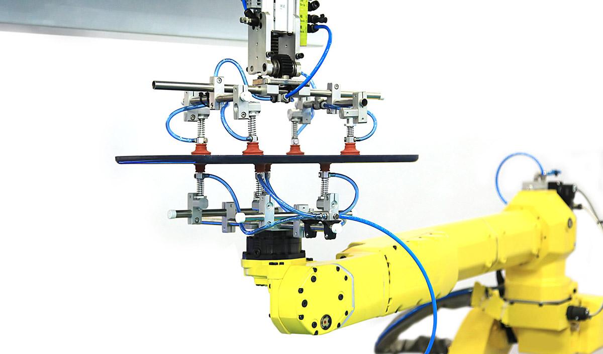 Robotergreifer ermöglichen das Greifen und Bewegen